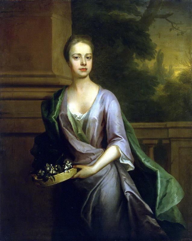 Микаэль Даль. Женский портрет