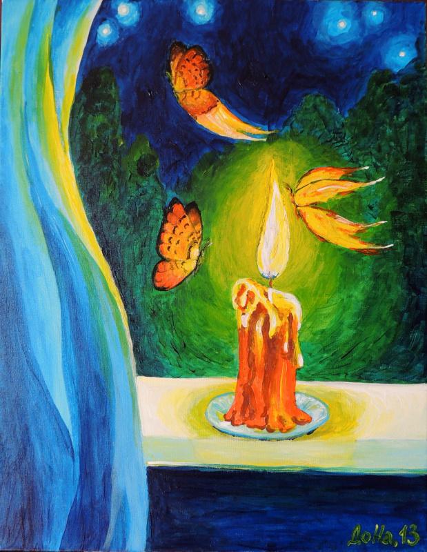Бабочки и огонь