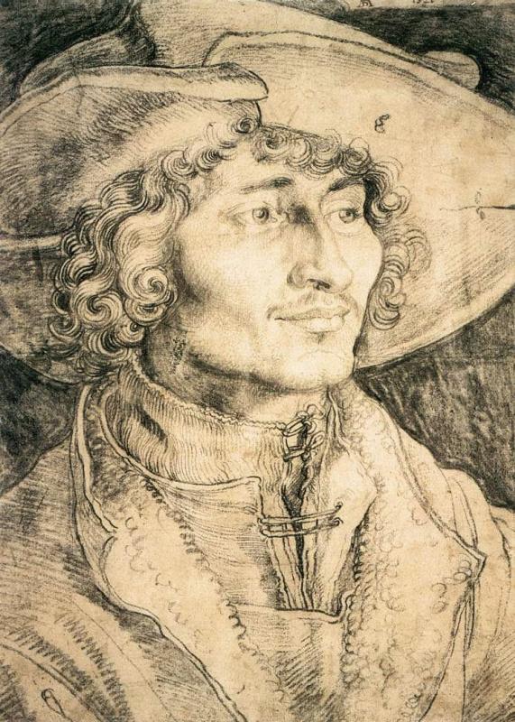 Albrecht Durer. Portrait of a young man