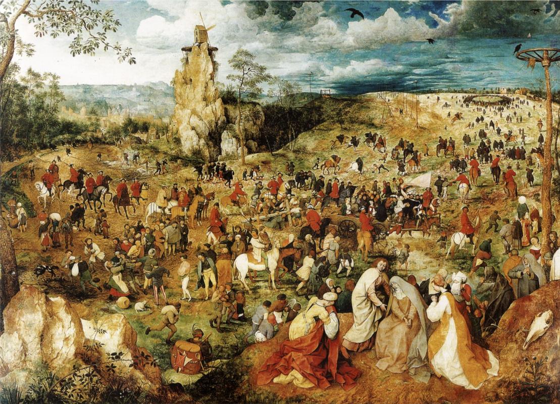 Питер Брейгель Старший. Шествие на Голгофу (Несение креста)