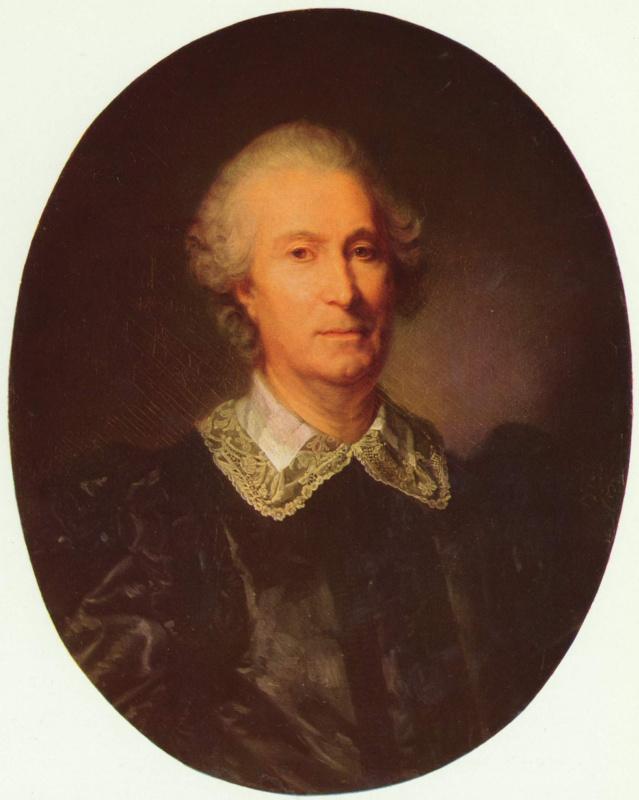 Жан-Батист Грёз. Портрет Рандона де Буассе