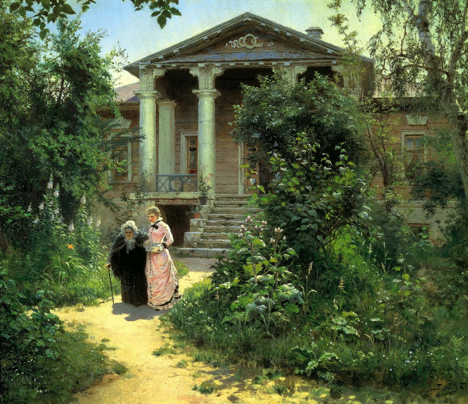 Василий Дмитриевич Поленов. Бабушкин сад
