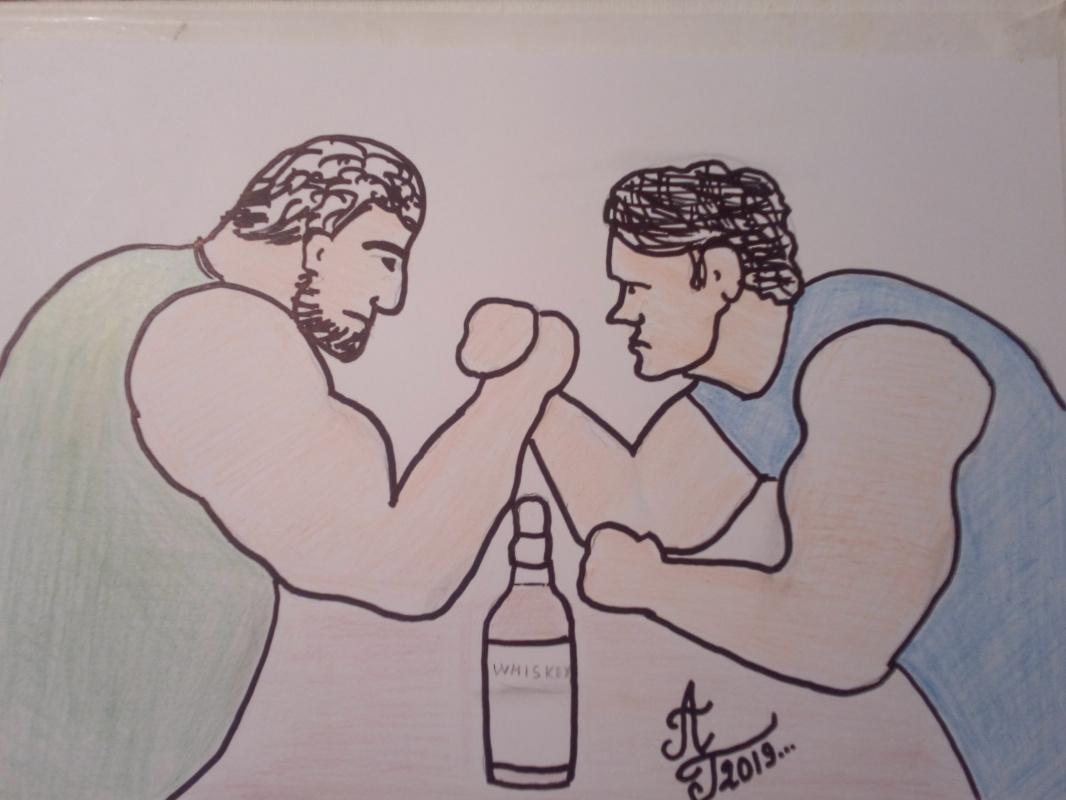 "Alexey Grishankov (Alegri). ""Duel"""