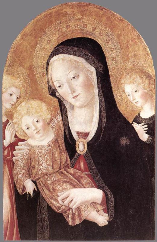 Франческо ди Джорджио Мартини. Богоматерь с младенцем