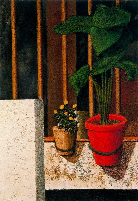 Доменек Паскуаль Бадиа. Желтые цветы