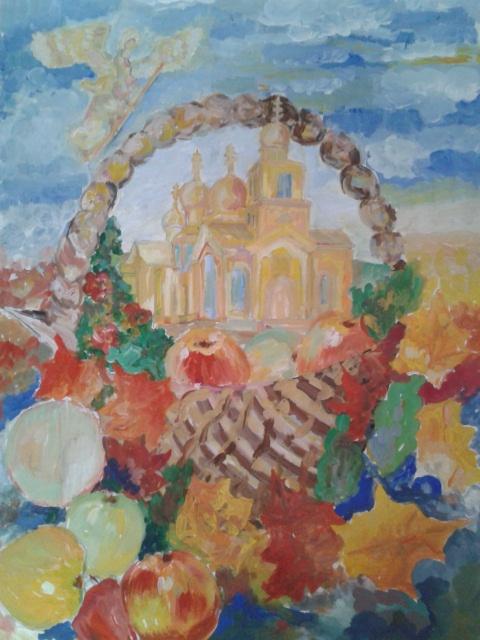 Анастасия Матусевич. Православный праздник