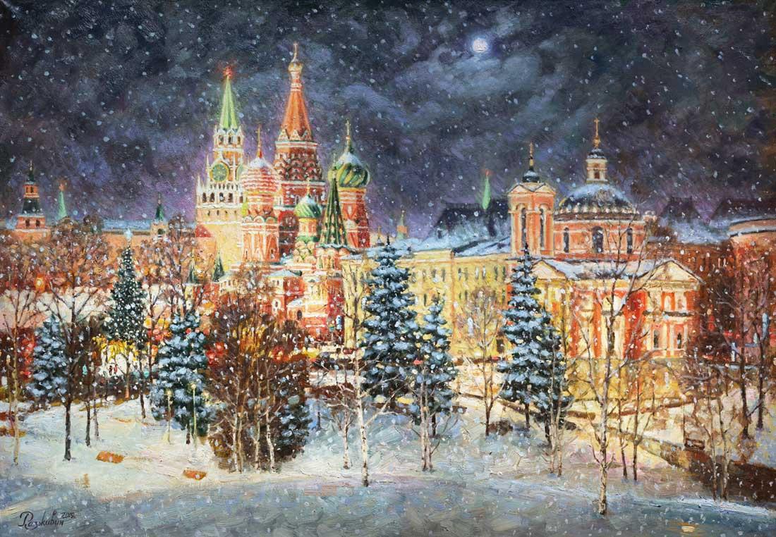 Igor Razzhivin. Christmas tale