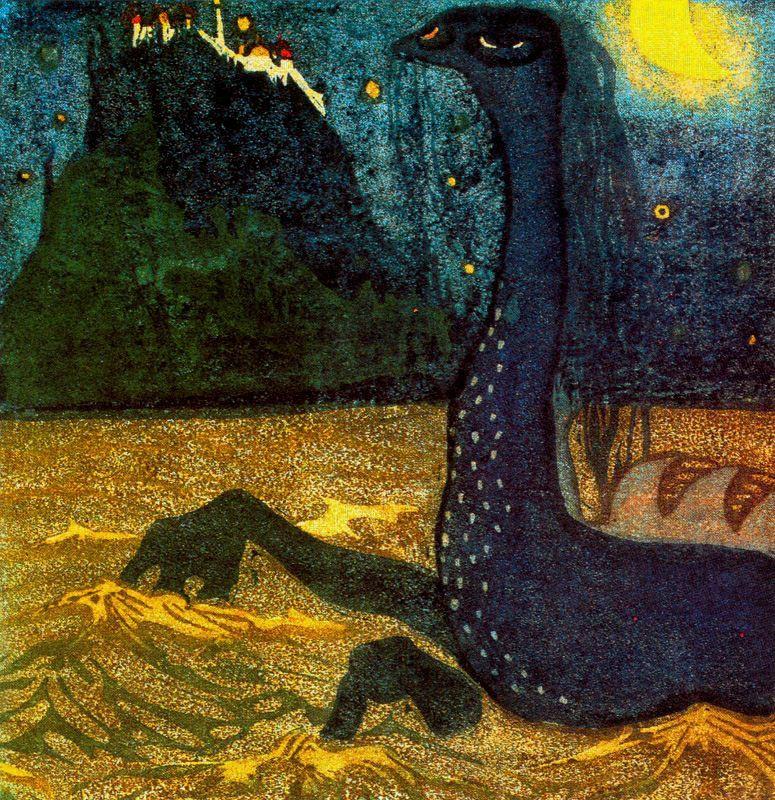 Wassily Kandinsky. Moonlight