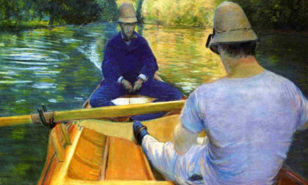 Gustave Caillebotte. Boaters on the Yerres