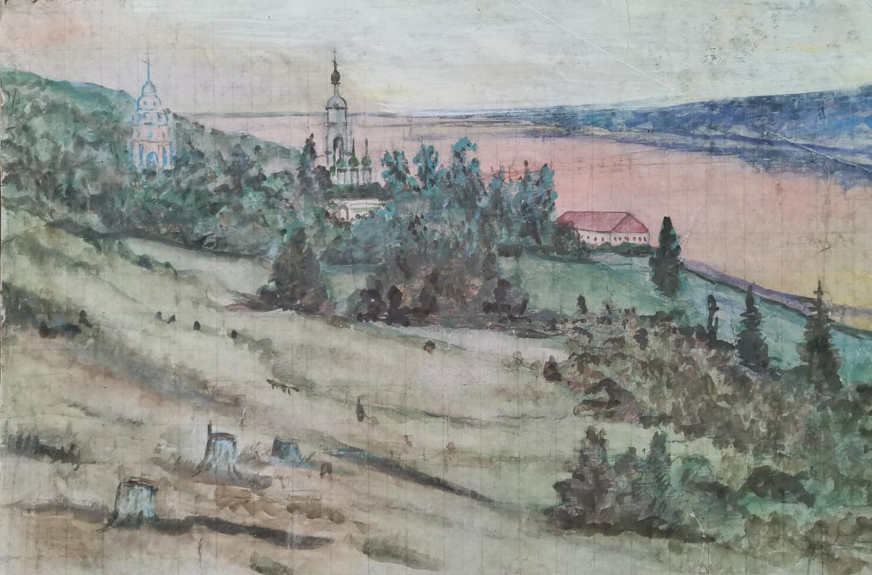 Yuri Ivanovich Tsvetkov. Landscapes 1