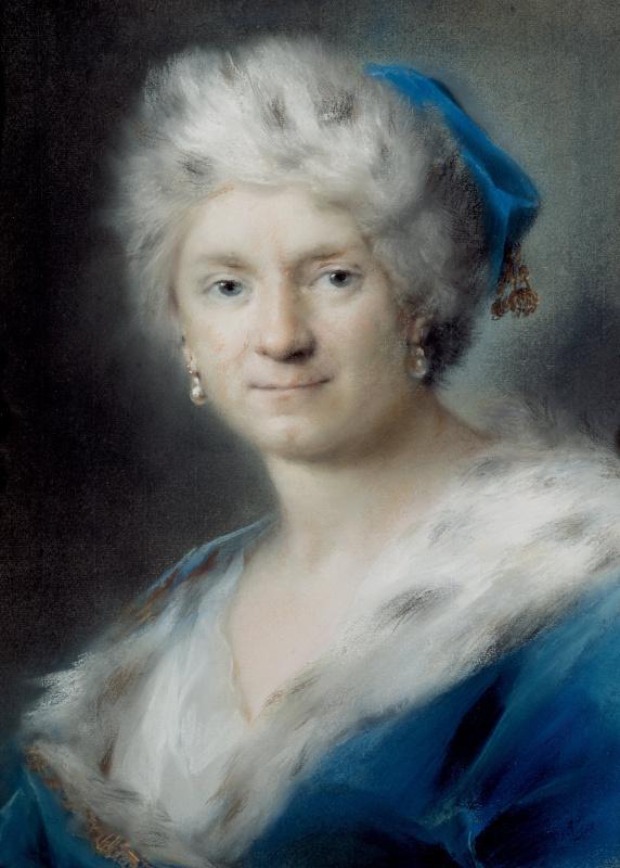 Розальба Каррьера (Каррера). Автопортрет в образе Зимы