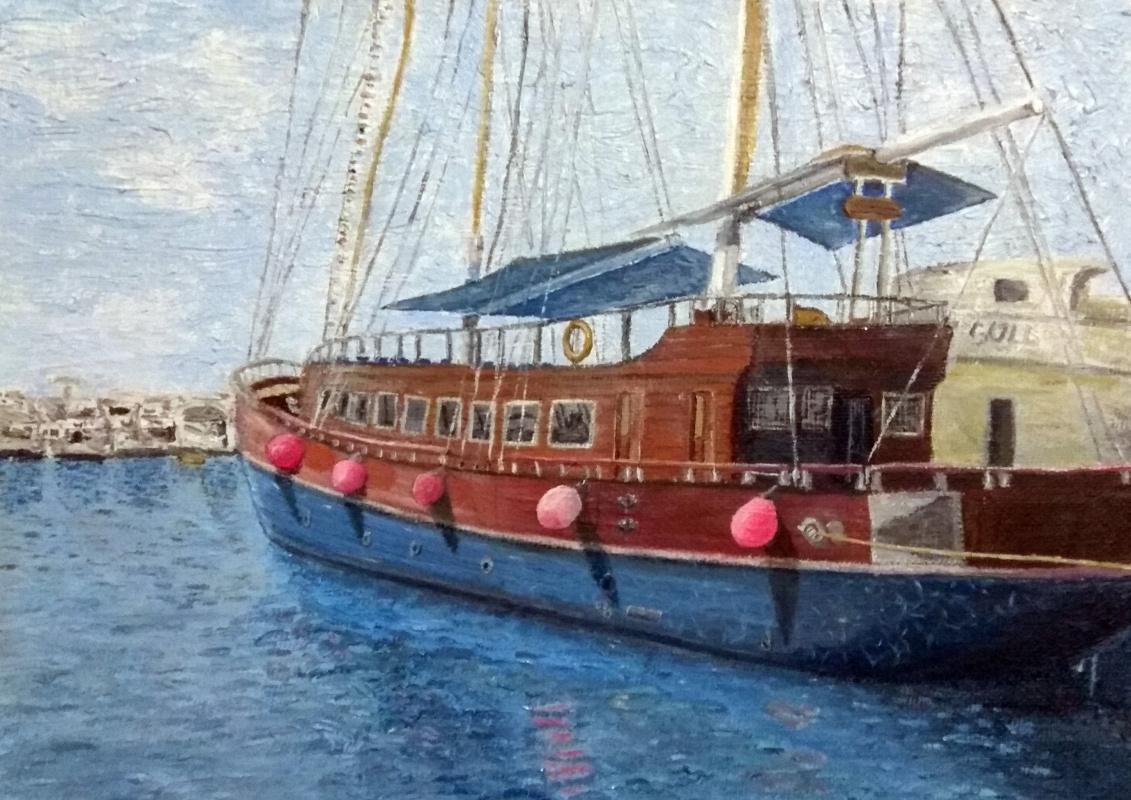 Paul. Ship in Sharm