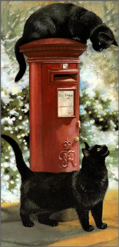 Крисси Снеллинг. Два черных кота