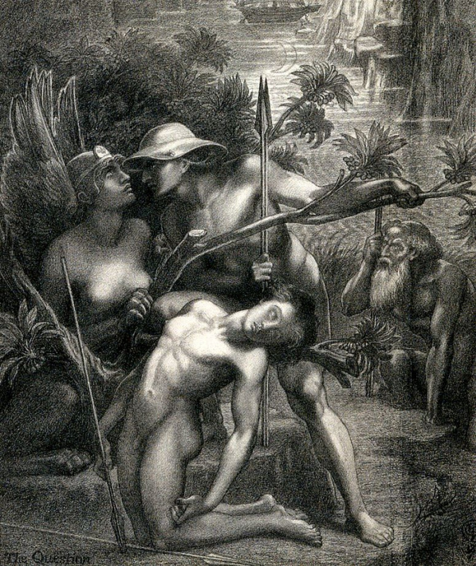 Dante Gabriel Rossetti. The Riddle Of The Sphinx