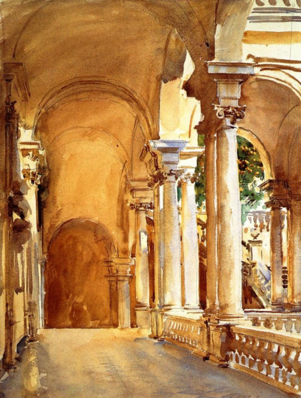 John Singer Sargent. Genoa, the University