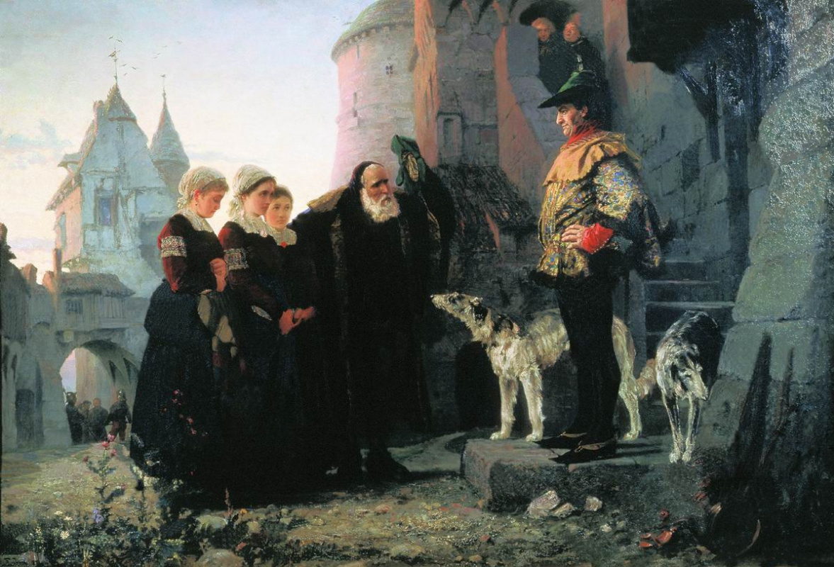Vasily Polenov. The right of the master
