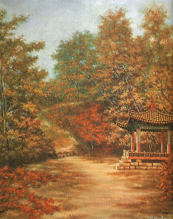 Бьюн Ши Джи. Пейзаж 9