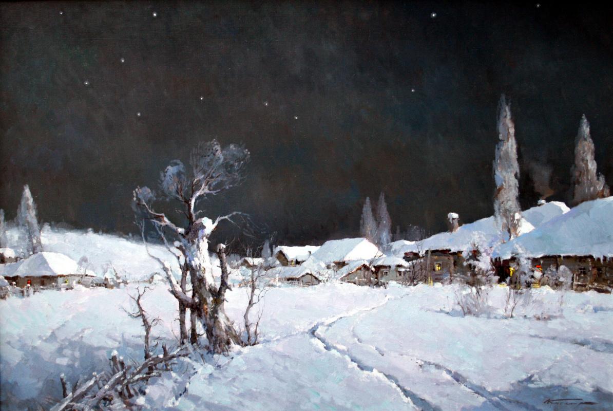 Alexander Markovich Kremer. Christmas night