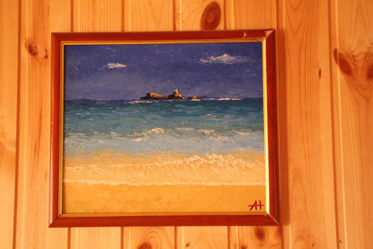 Alina Nesterova. Sea