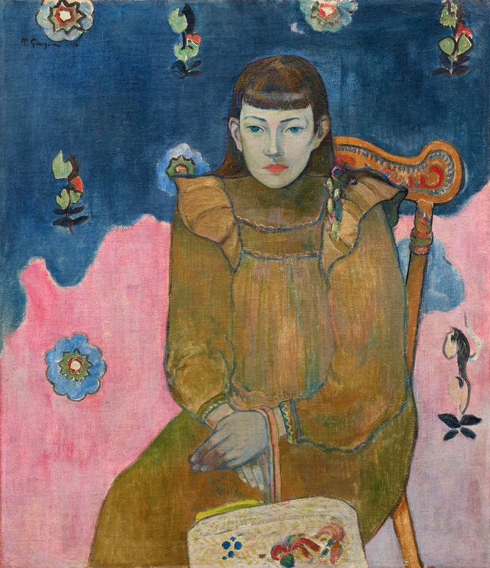 Поль Гоген. Портрет девушки Вет (Жанны) Гупиль