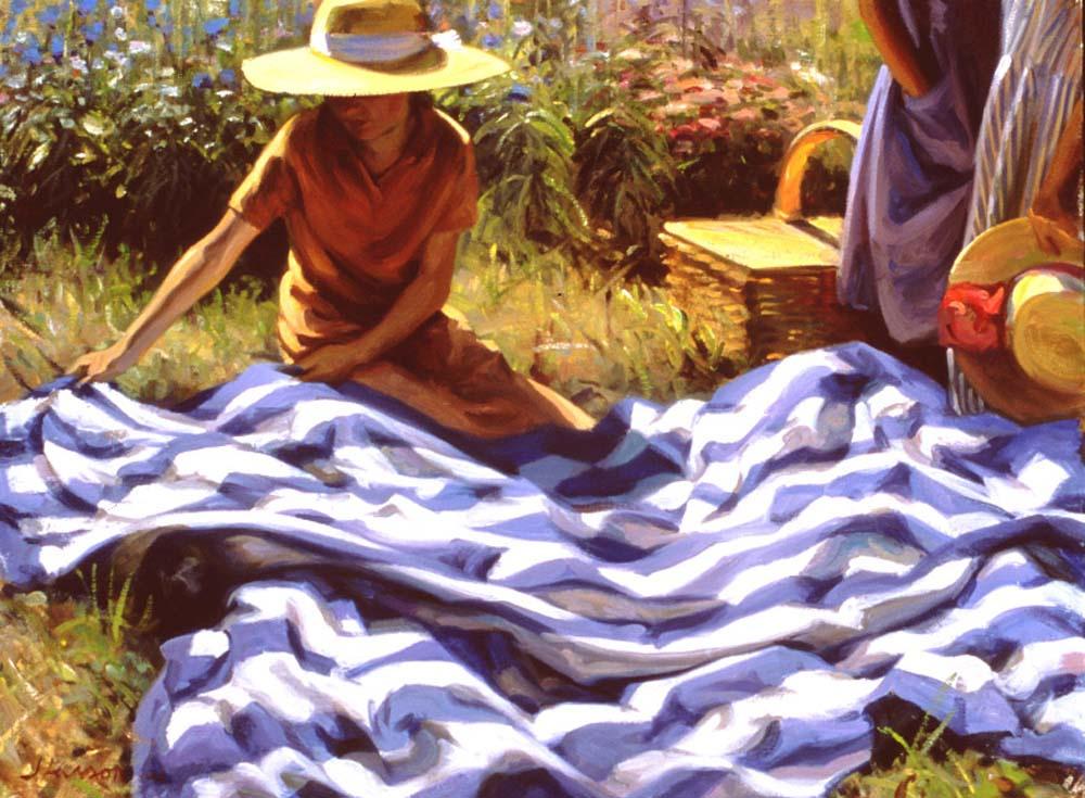 Джеффри Ларсон. Одеяло на пикнике