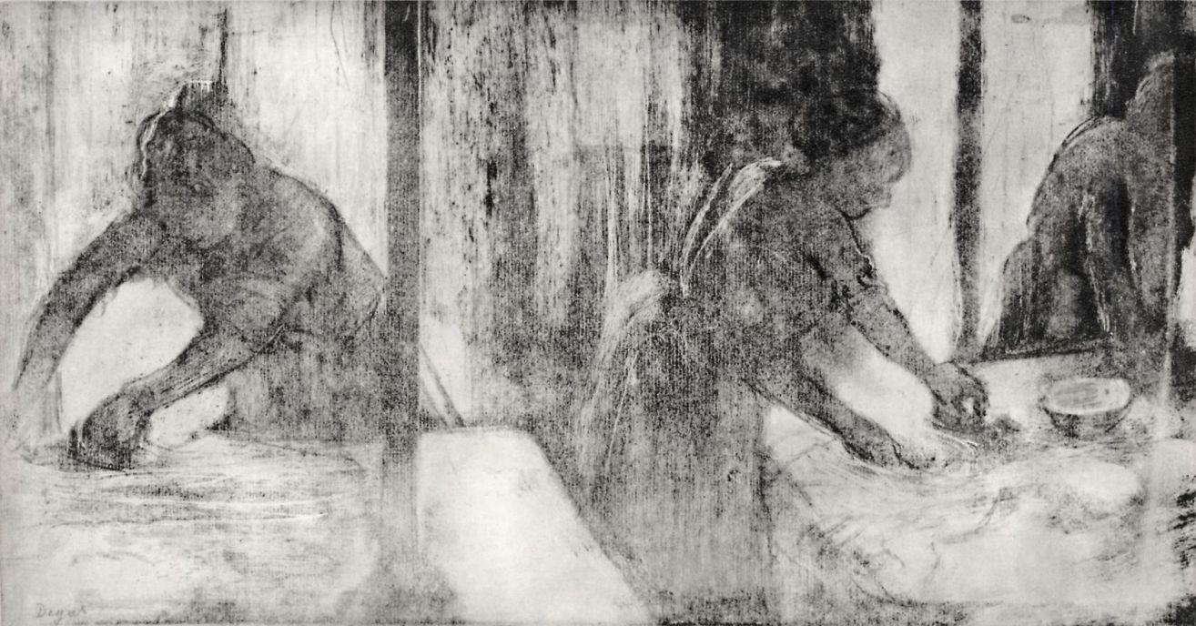Эдгар Дега. Гладильщицы