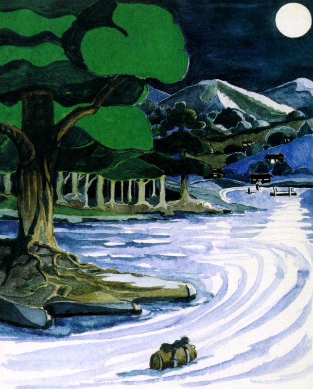 Джон Рональд Руэл Толкиен. Река в лесу