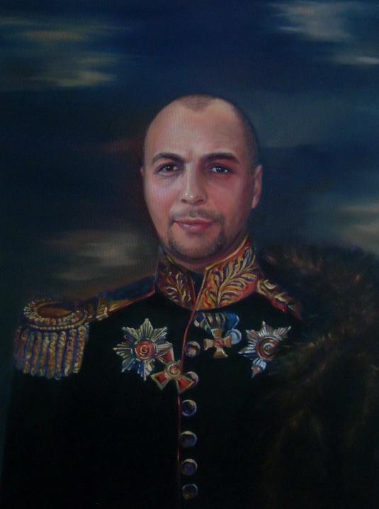 Леся Белза. Мужской портрет