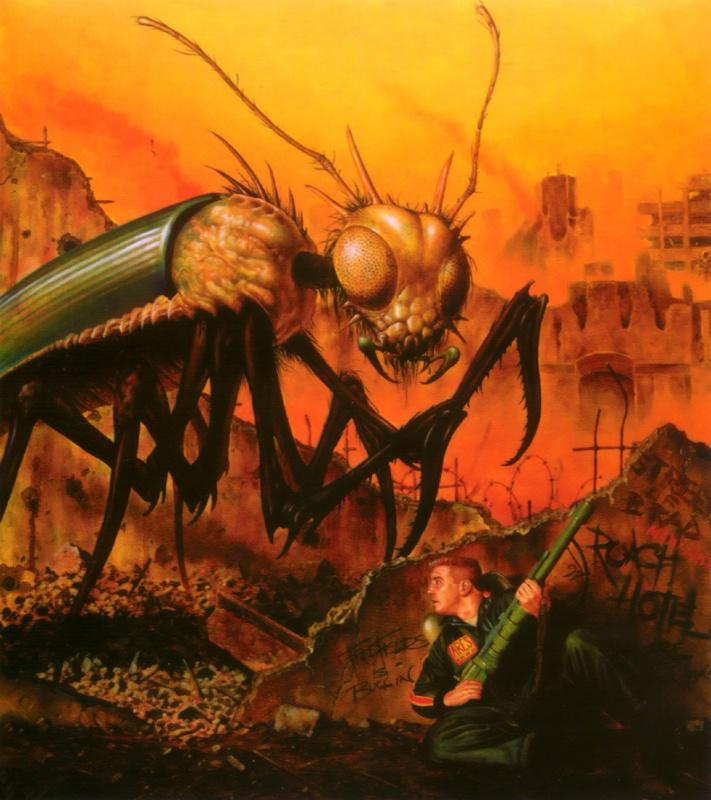 Фред Филдс. Большое насекомое