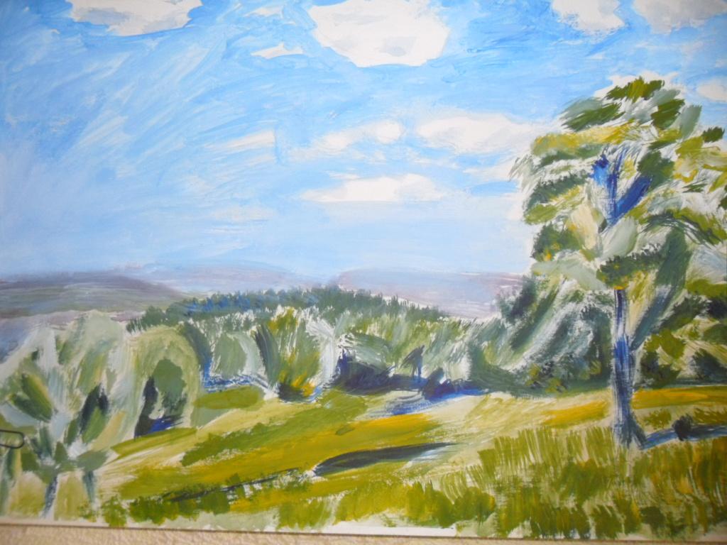 Гульнара Матюхина. Пейзаж