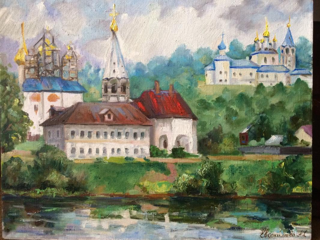 Anna Sergeevga Evdokimova. Old town Gorokhovets