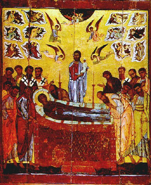 Иконопись. Икона Успение Богородицы