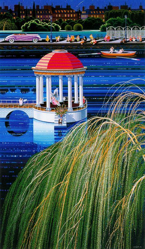 Хиро Ямагата. Прогулка в лодке