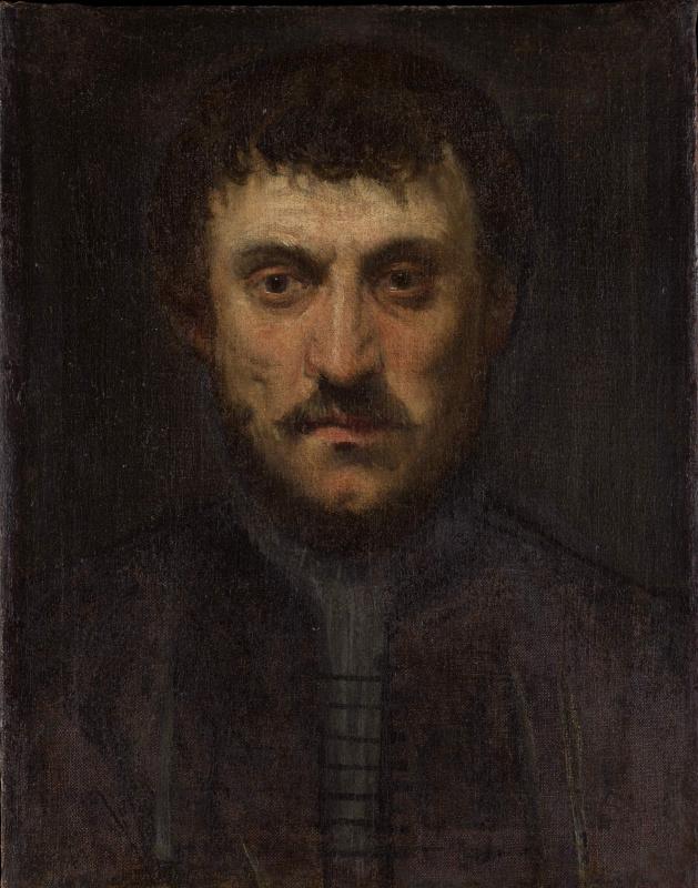 Portrait of a man (Self-portrait)