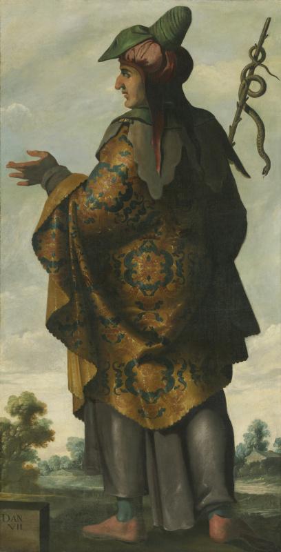 Франсиско де Сурбаран. Дан из серии «Иаков и его двенадцать сыновей»