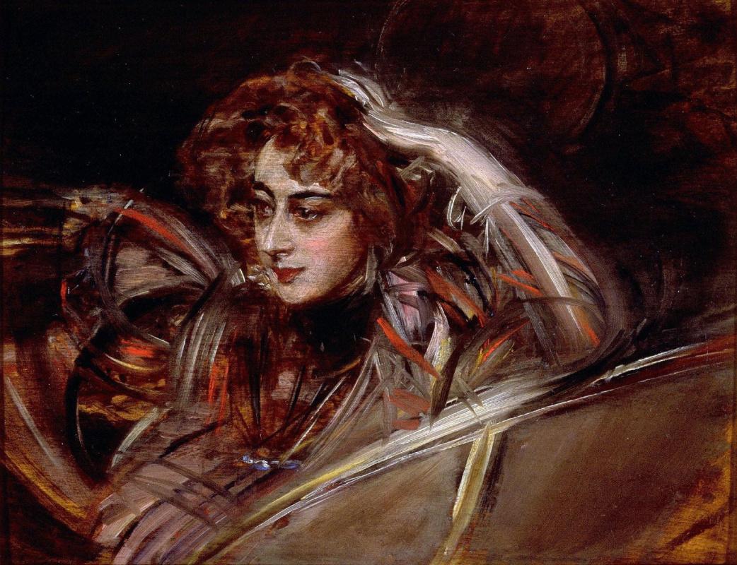 Giovanni Boldini. Portrait of Madame X