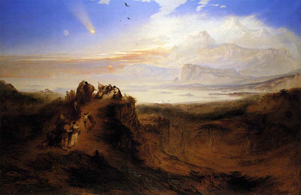John Martin. The flood