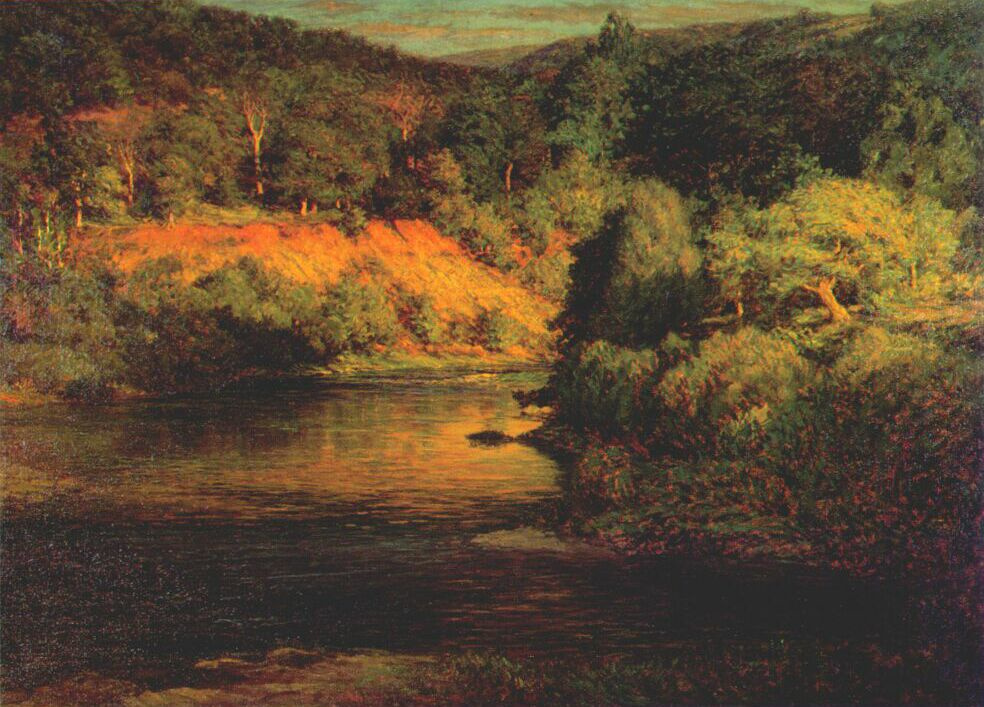 John Ottis Adams. The end of the day