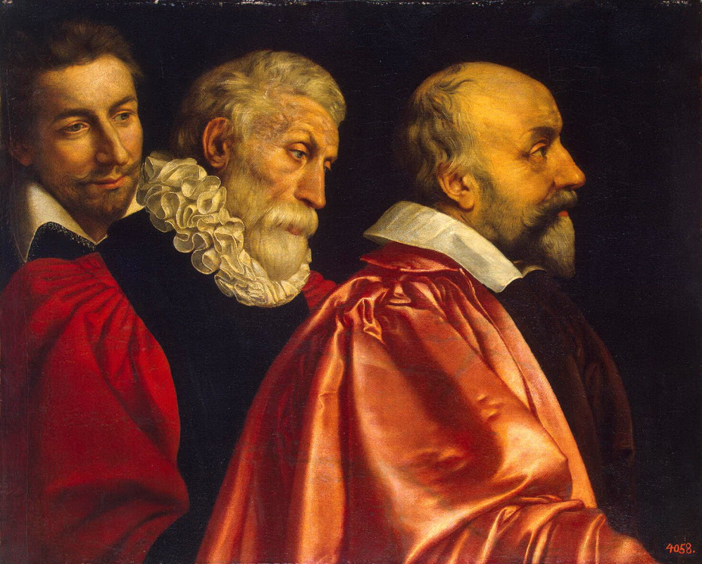 Франс Пурбус Младший. Групповой портрет трех советников Парижского магистрата