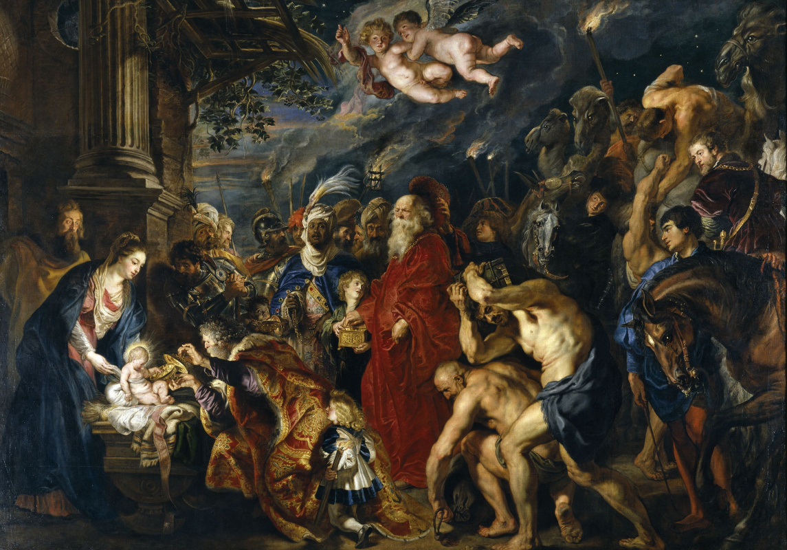 Peter Paul Rubens. The adoration of the Magi