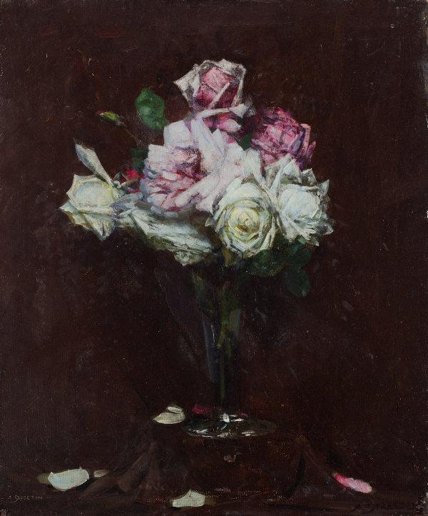Arthur Ernest Streaton. Roses