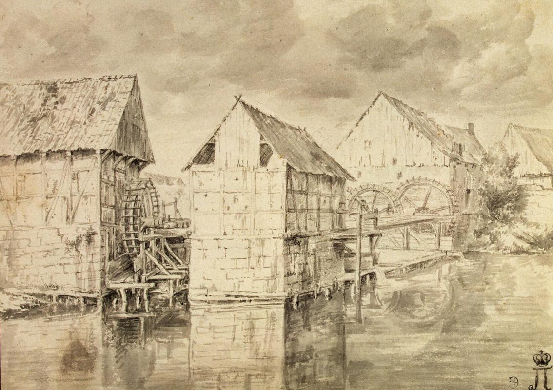 Якоб Исаакс ван Рейсдал. Водяные мельницы