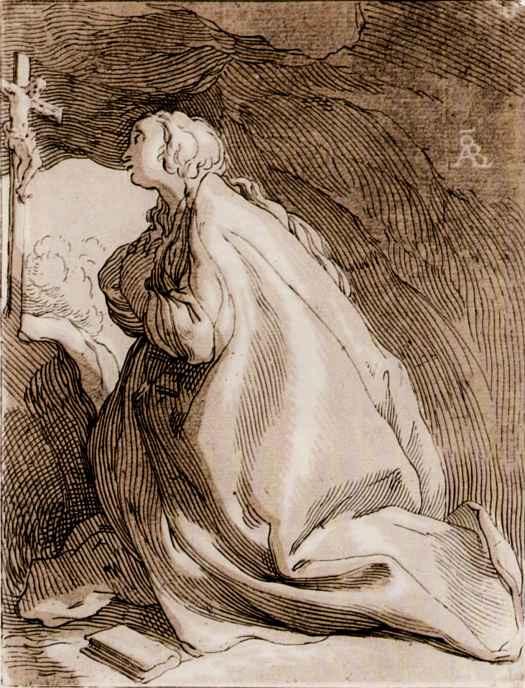 Абрахам Блумарт. Кающаяся Мария Магдалина