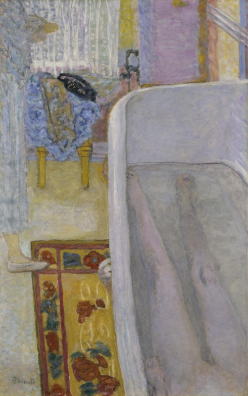Pierre Bonnard. Nude in the Bath