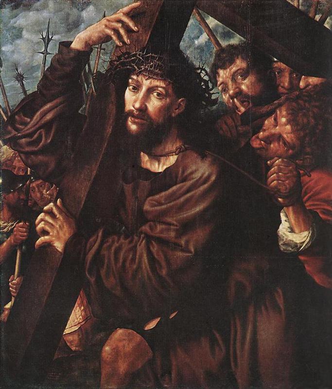 Ян Сандерс ван Хемессен. Несение своего креста
