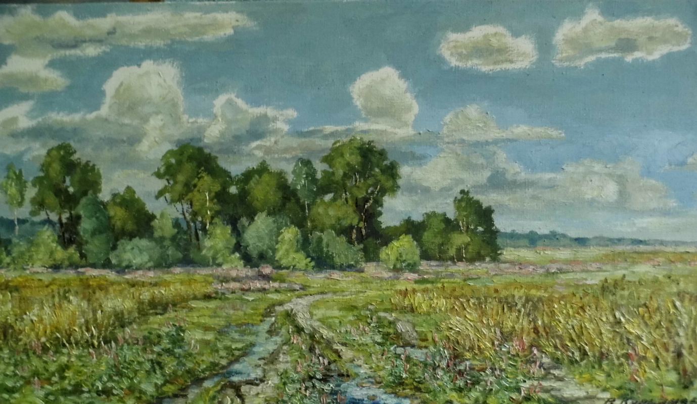 Victor Vladimirovich Kuryanov. Field road