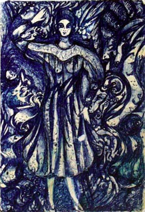 Rosa Alexandrovna Zharkikh. Composition number 3