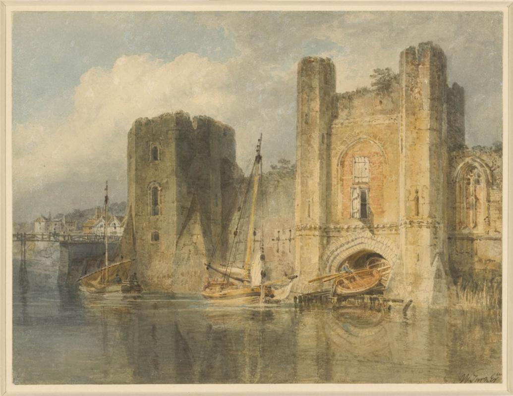 Joseph Mallord William Turner. Castle Newport