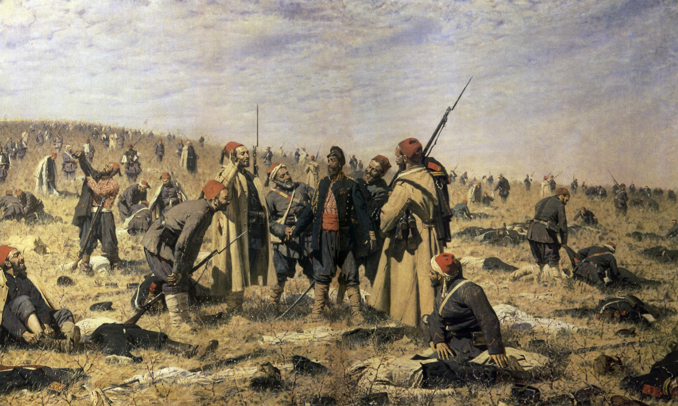 Vasily Vasilyevich Vereshchagin. The winners