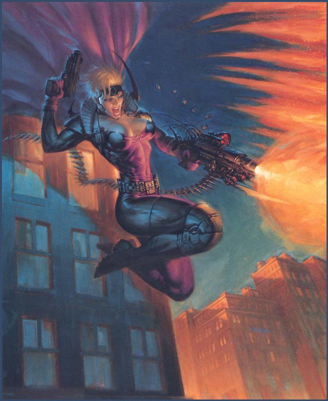 Джо Чиодо. Вооруженная женщина